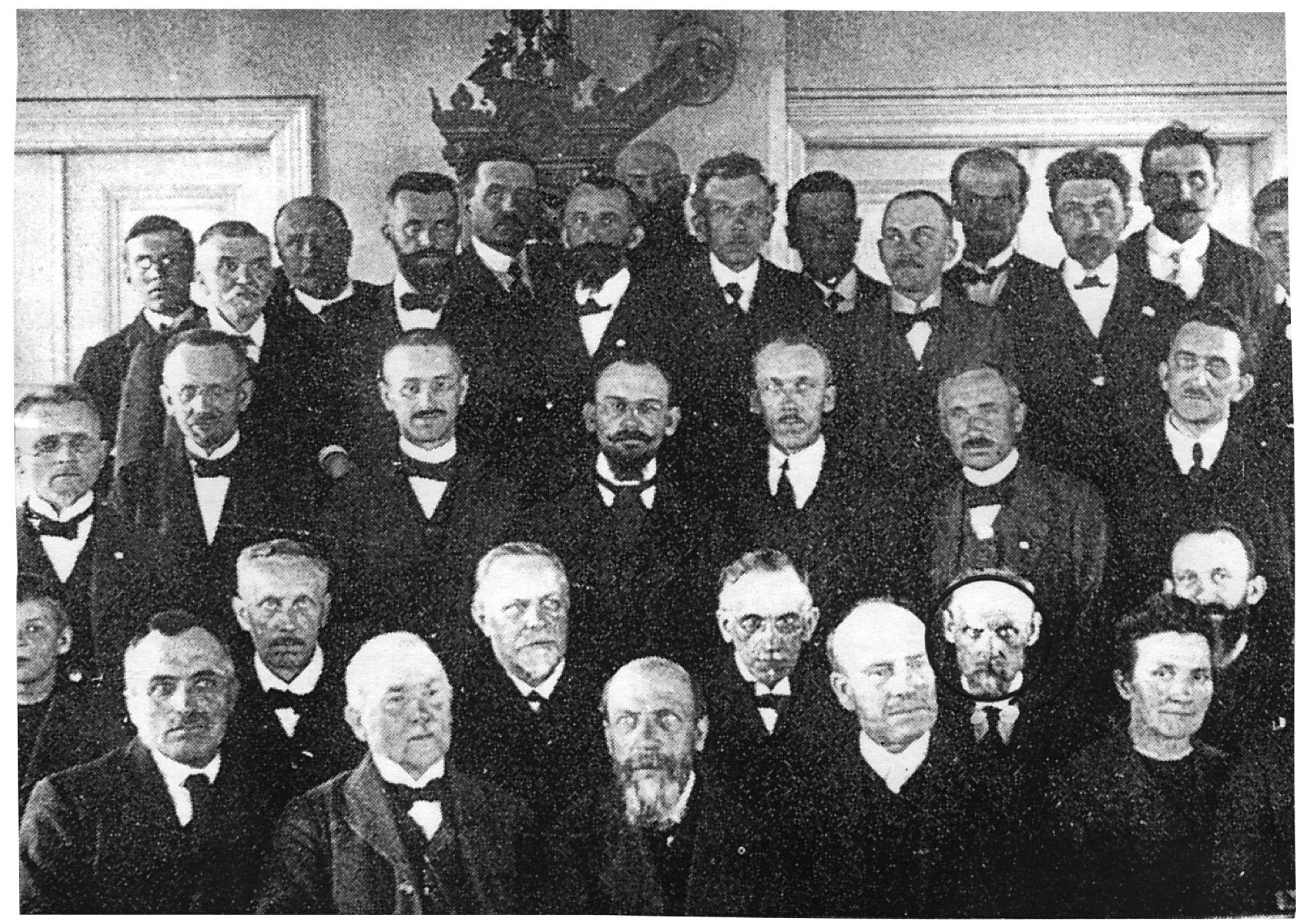 Pridigarska konferenca v Českih Skalicah, 1920