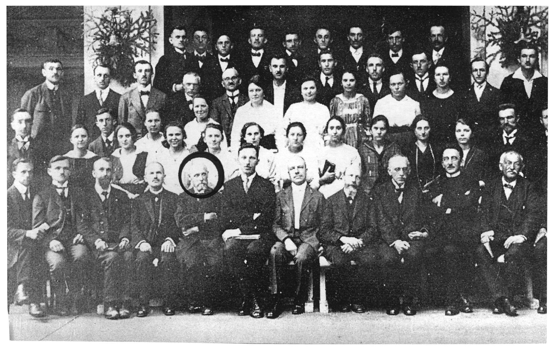 Pridigarski seminar na Češkem, 1921