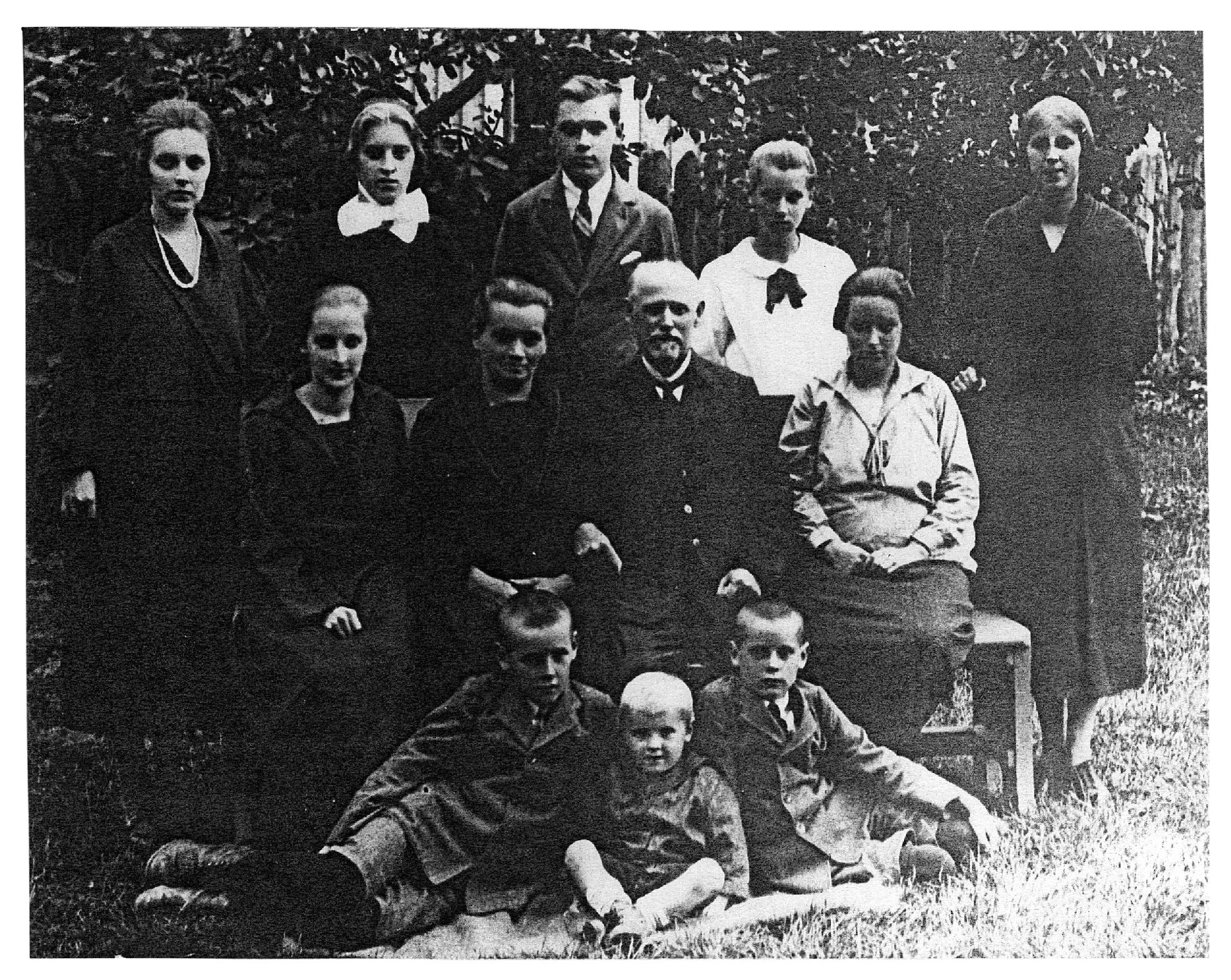 Družinska fotografija, 1925
