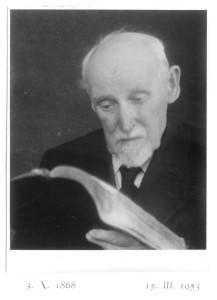 Anton Chráska z Biblijo, 1951