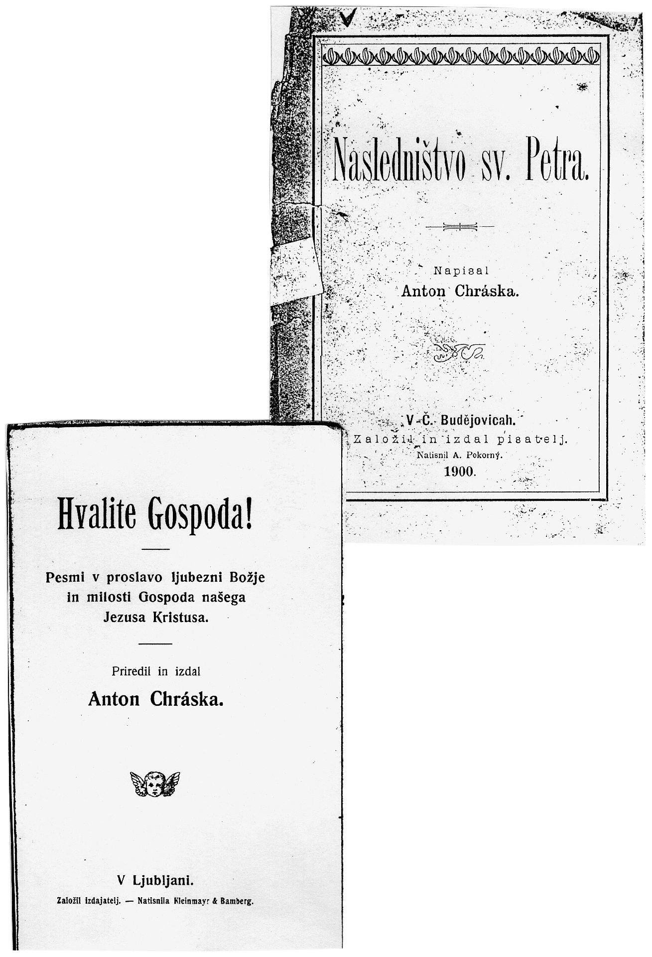 """Pesmarica in """"Nasledništvo sv. Petra"""""""