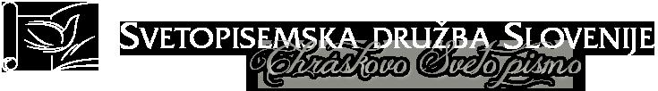 Chráskovo Sveto pismo Logo